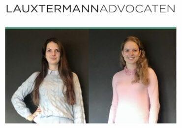 Lauxtermann Advocaten is twee collega's rijker!