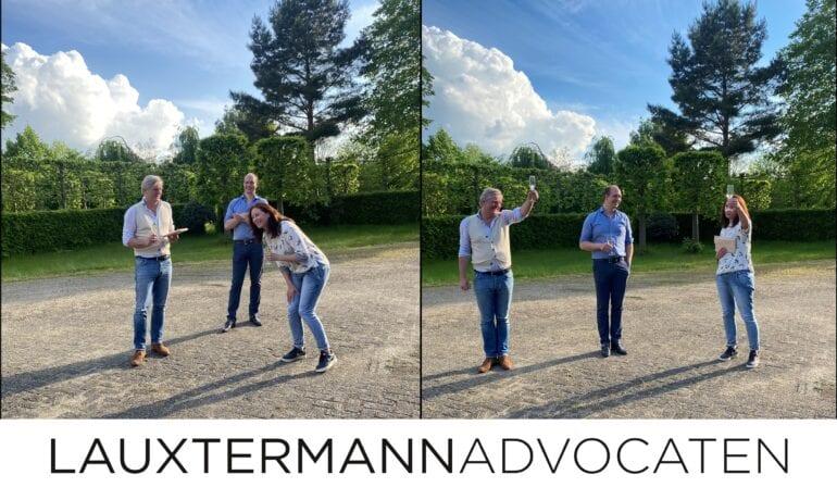 Lauxtermann wenst Kitty Volker veel succes!